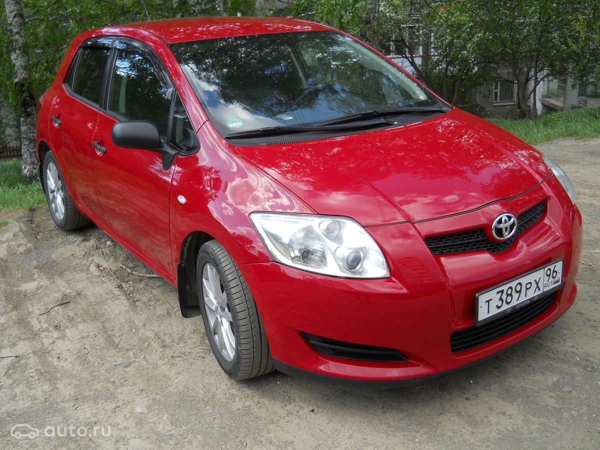 Toyota Аурис 1 4 бензин