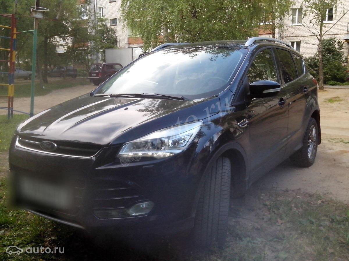 Запчасти для ford kuga ii