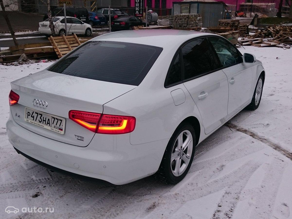 Все технические характеристики Audi A4 (8E, B8) 4 дв ...