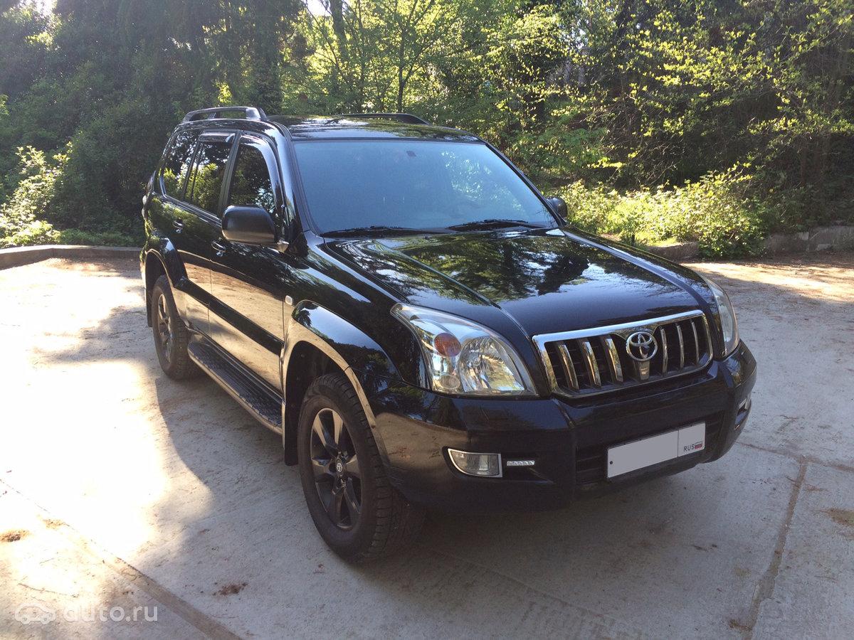 Toyota Land Cruiser Prado официальный сайт