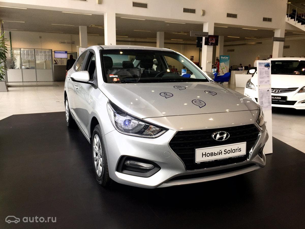 Build Hyundai Solaris 2017 has already begun 98