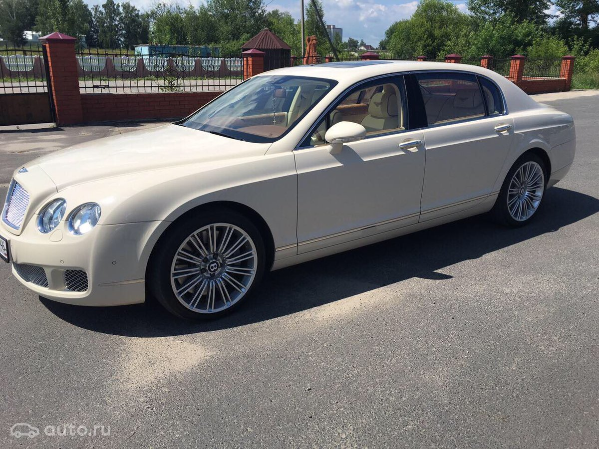 bentley continental flying spuk 2009 года
