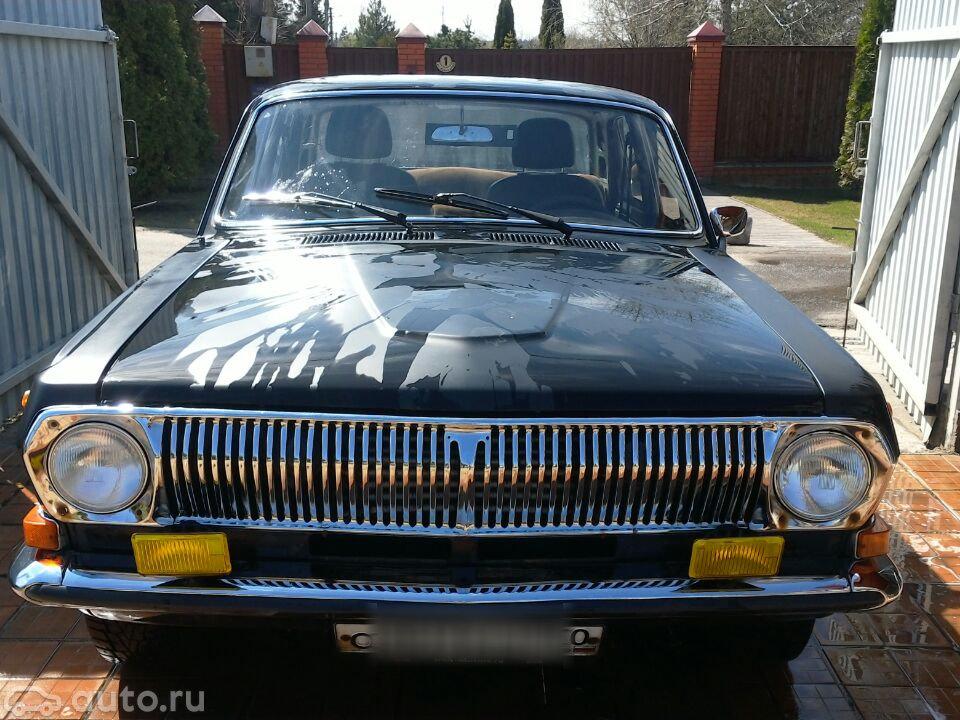 Купить ГАЗ 24 «Волга» i (24) с пробегом в Москве: ГАЗ 1 (24) 1970 ZD410