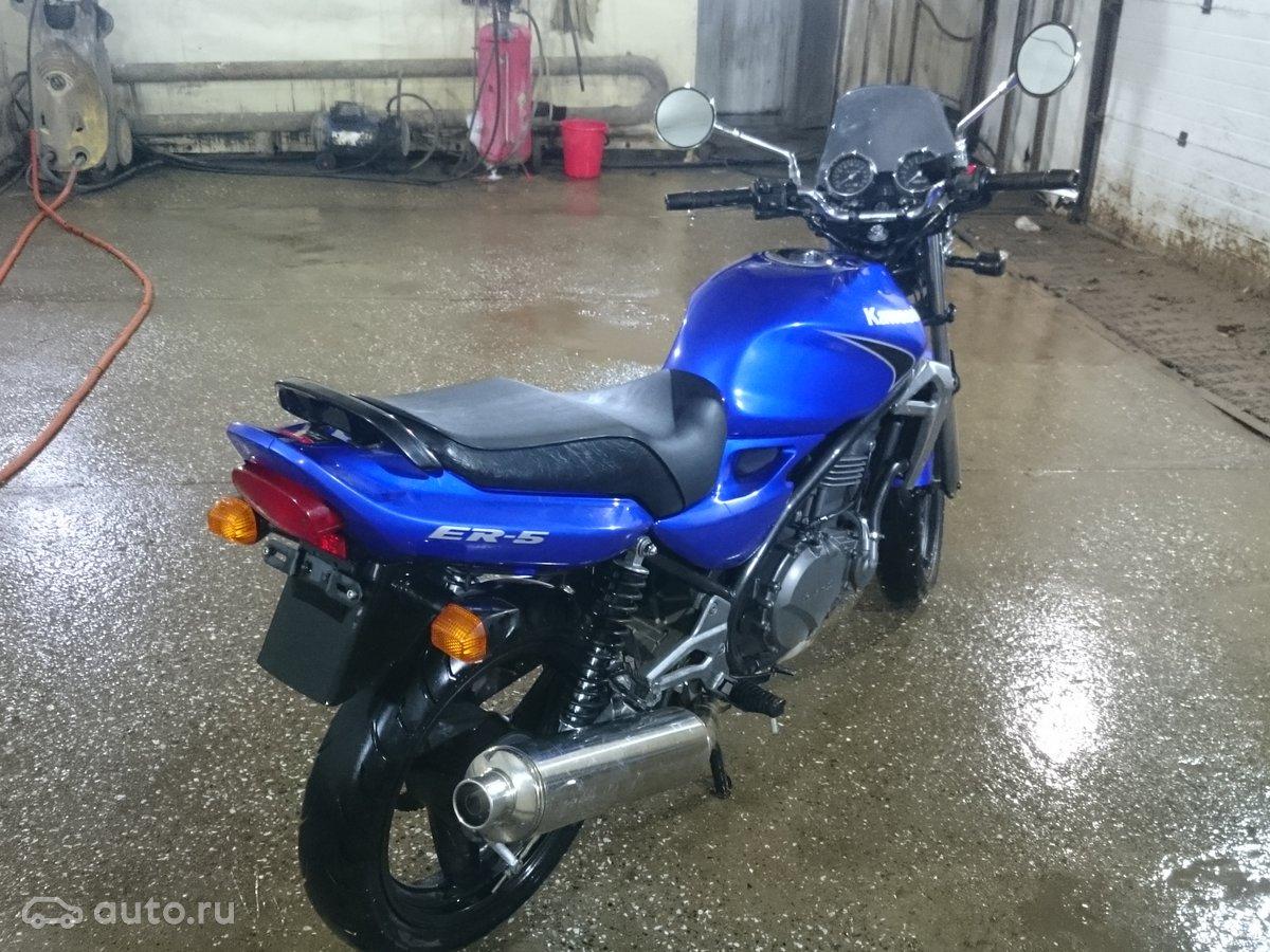 купить Kawasaki Er 5 с пробегом в перми Kawasaki Er 5 2006 года