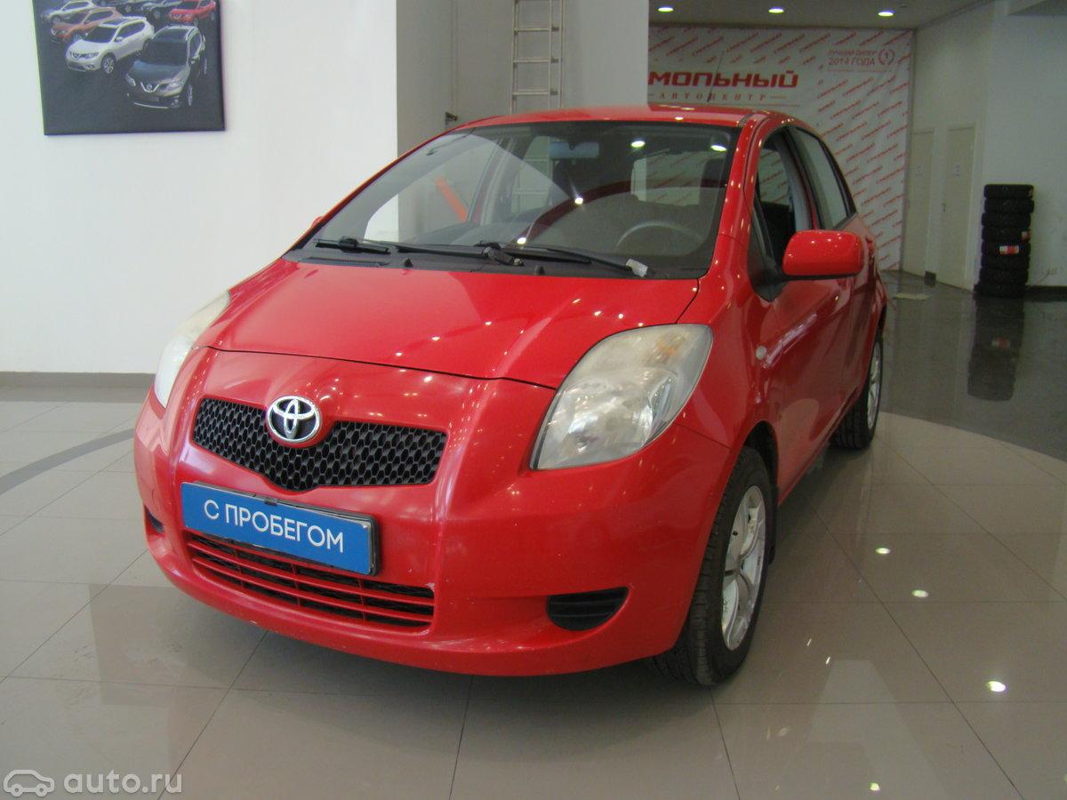 Toyota Yaris 2007 отзывы