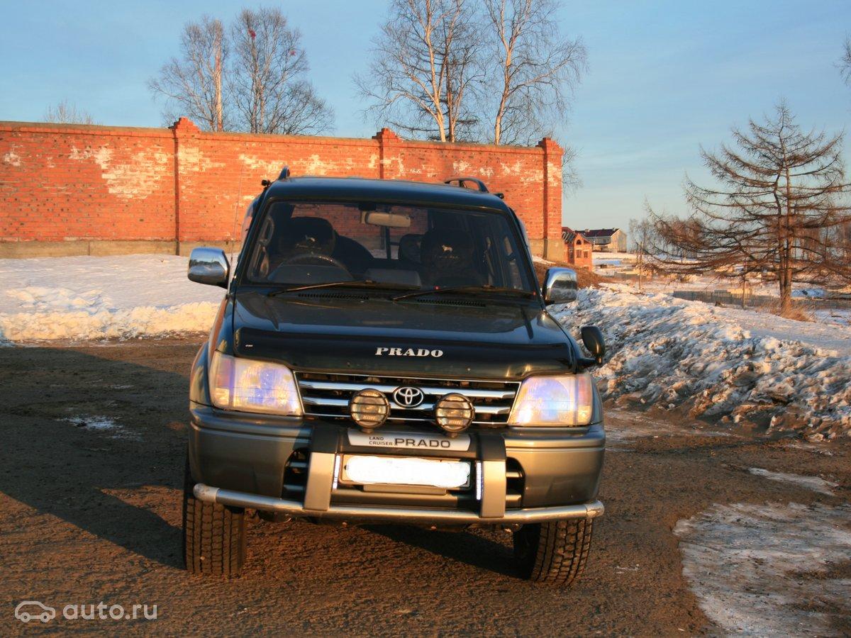 Toyota Прадо 150 кузов дизель