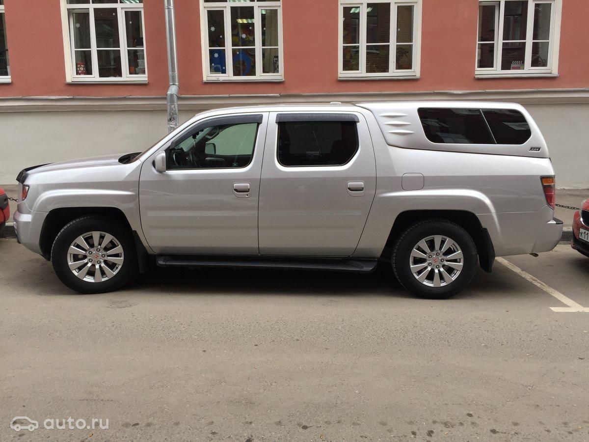 Купить хонда риджлайн с пробегом в россии