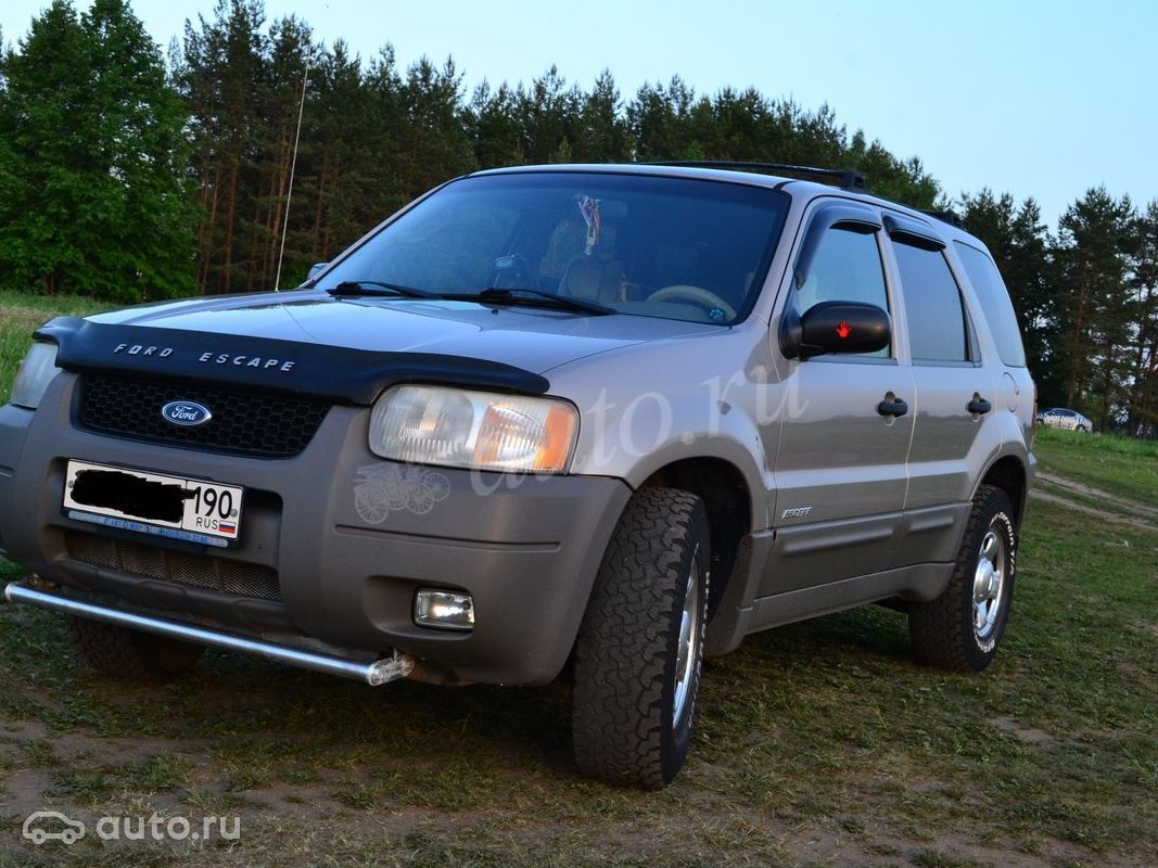 ford escape i 2.0 mt отзывы