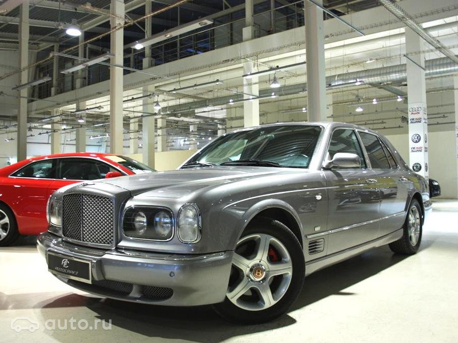 bentley brooklands 1 2001 года фото