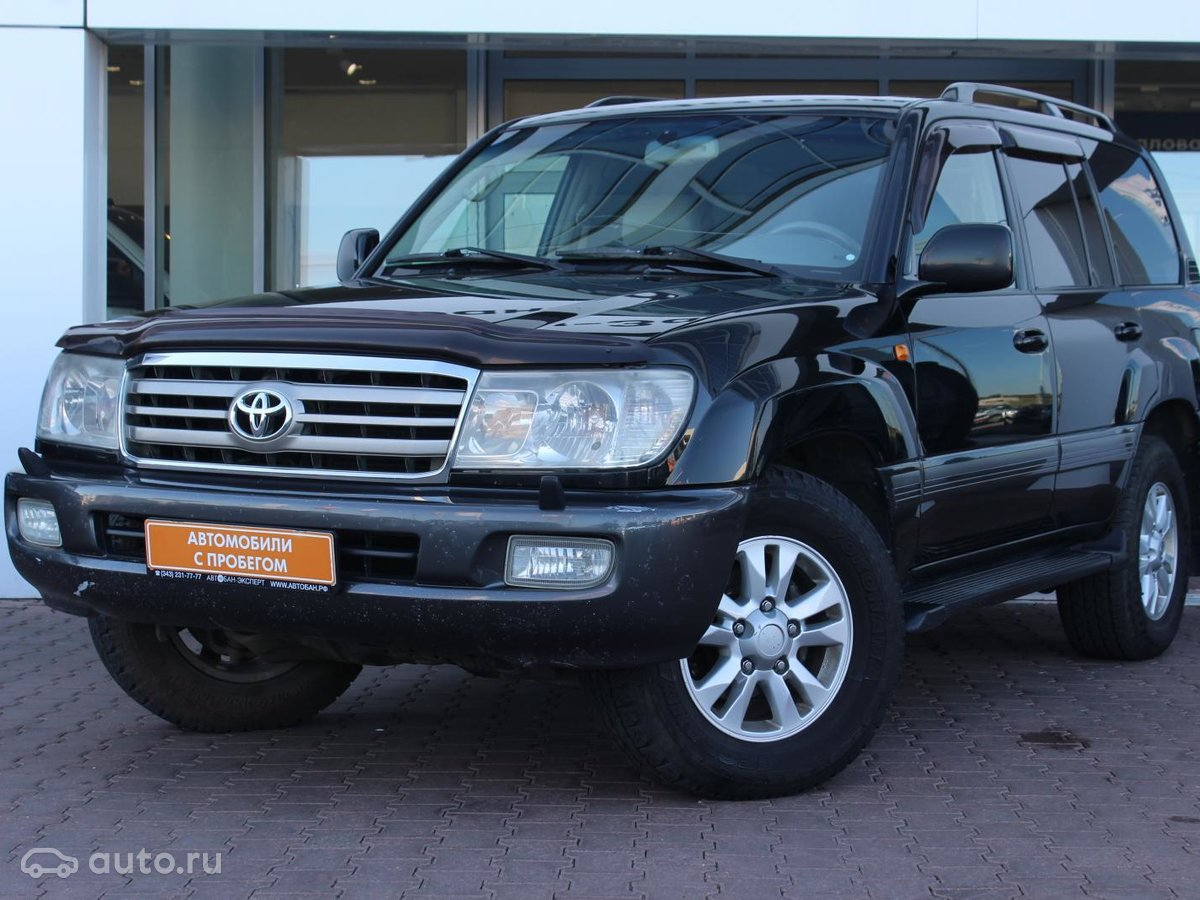Toyota Land Cruiser 100 Series 2 2005 Object