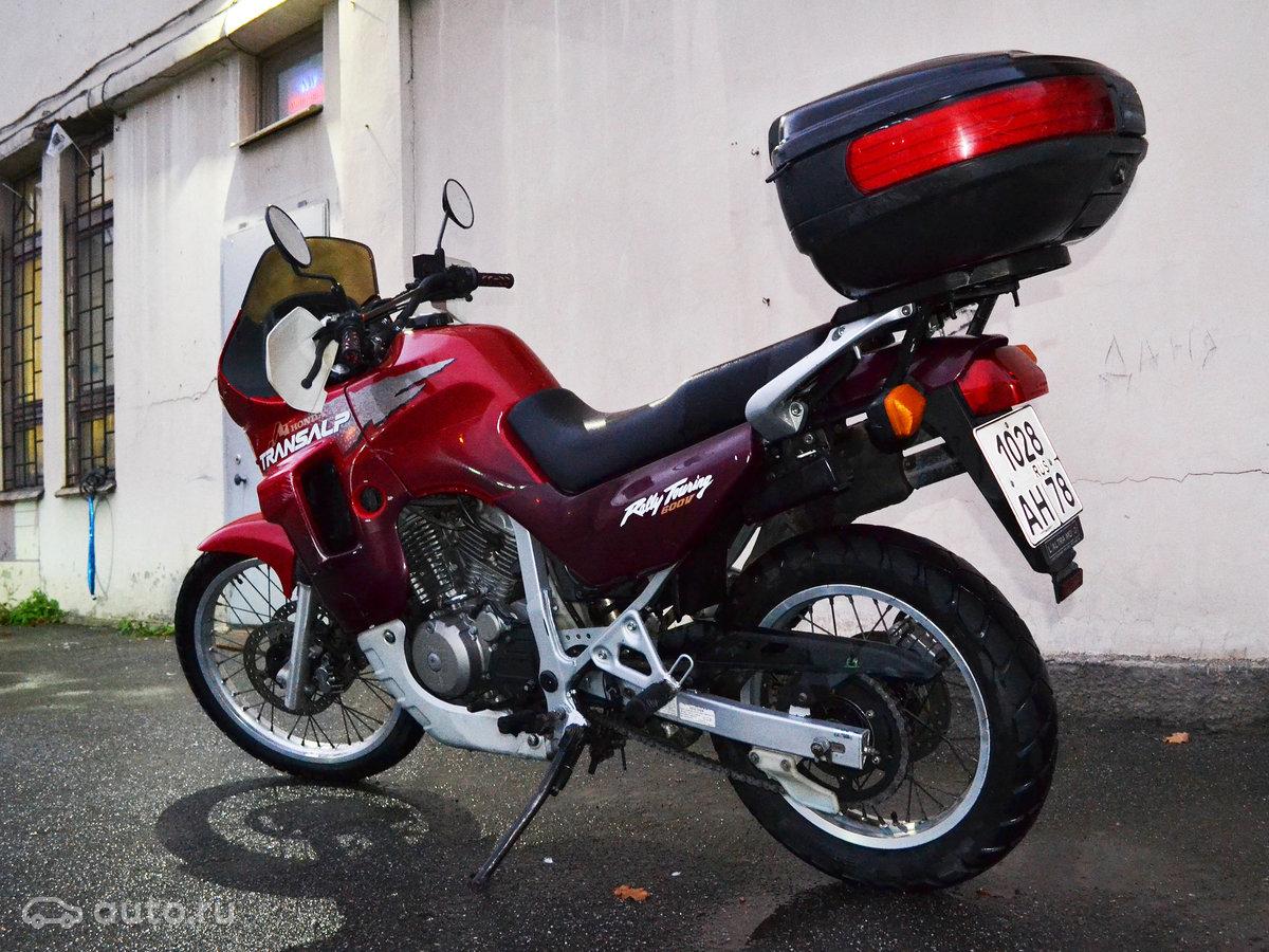 купить Honda Transalp 600 с пробегом в санкт петербурге Honda 1999