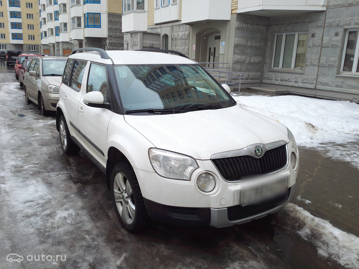 Продажа Skoda Yeti Шкода Йети в Москве