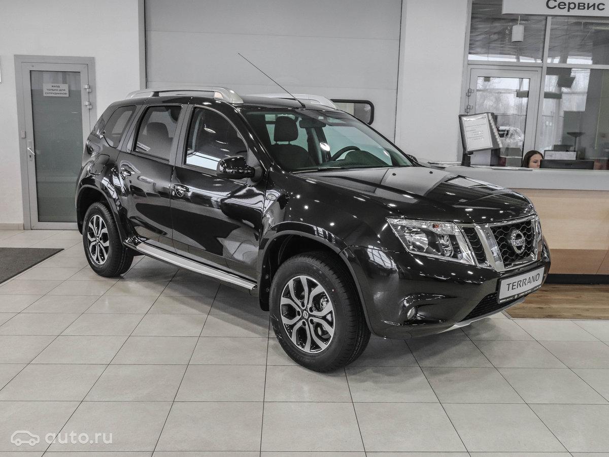 Nissan Terrano 2018 года