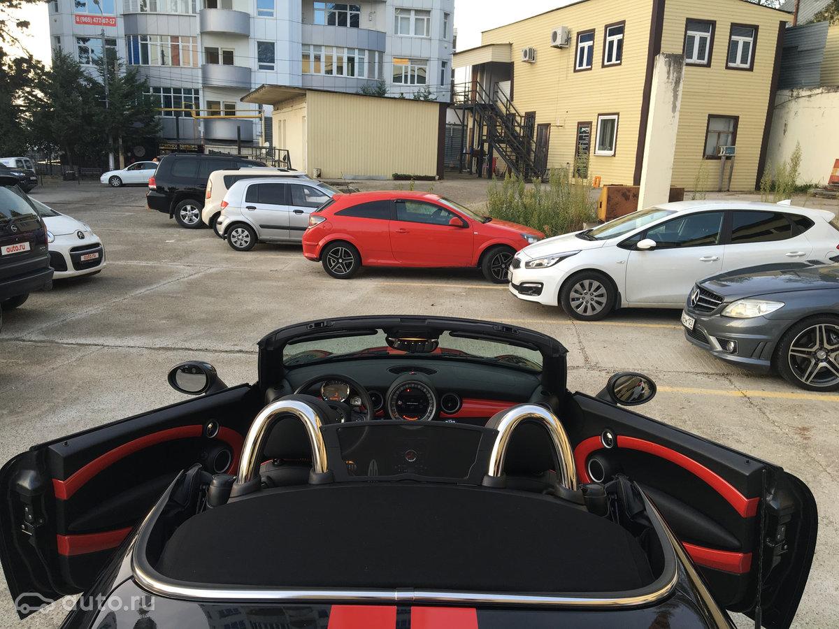 купить Mini Cabrio Ii рестайлинг John Cooper Works с пробегом в сочи