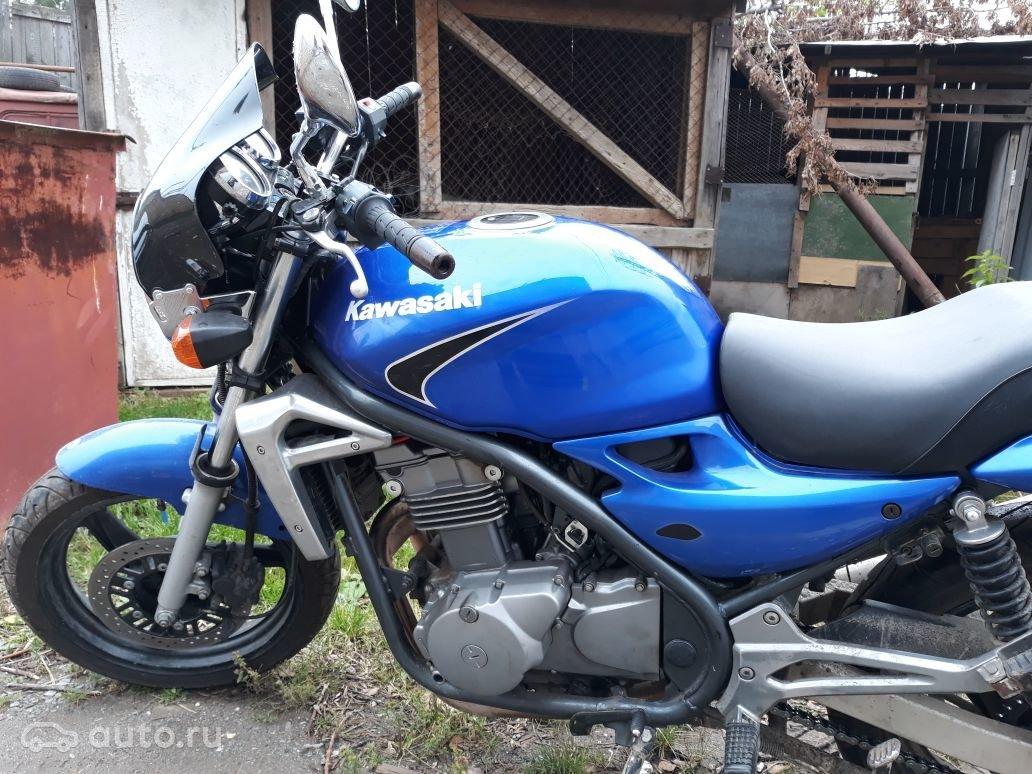 купить Kawasaki Er 5 с пробегом в екатеринбурге Kawasaki Er 5 2006