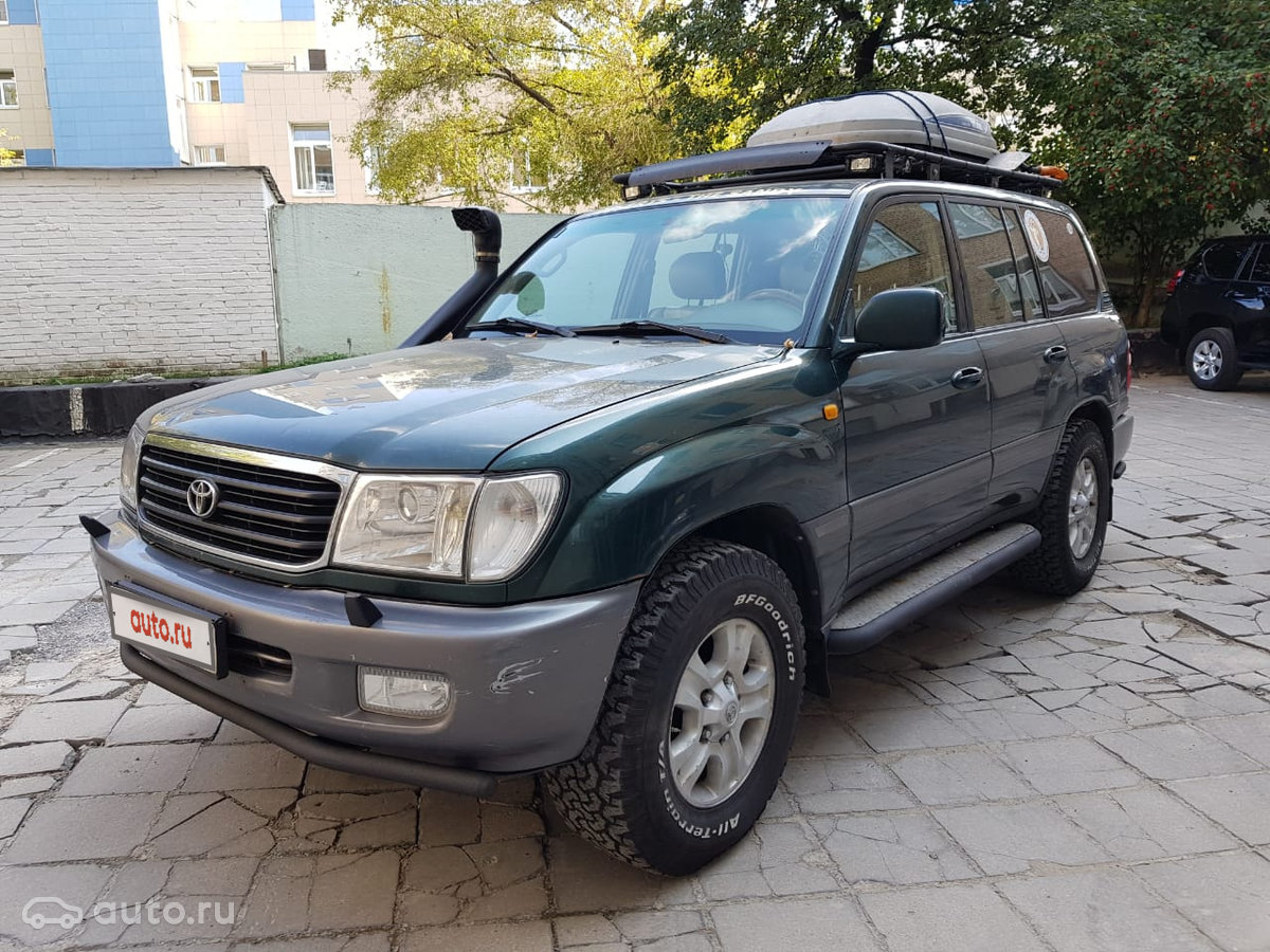 Toyota Land Cruiser 100 Series 2001 Object