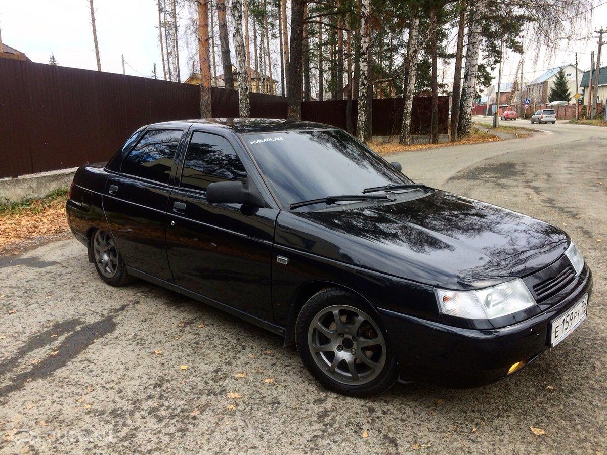 2010 LADA (ВАЗ) 2110 Богдан, чёрный, [object Object] рублей