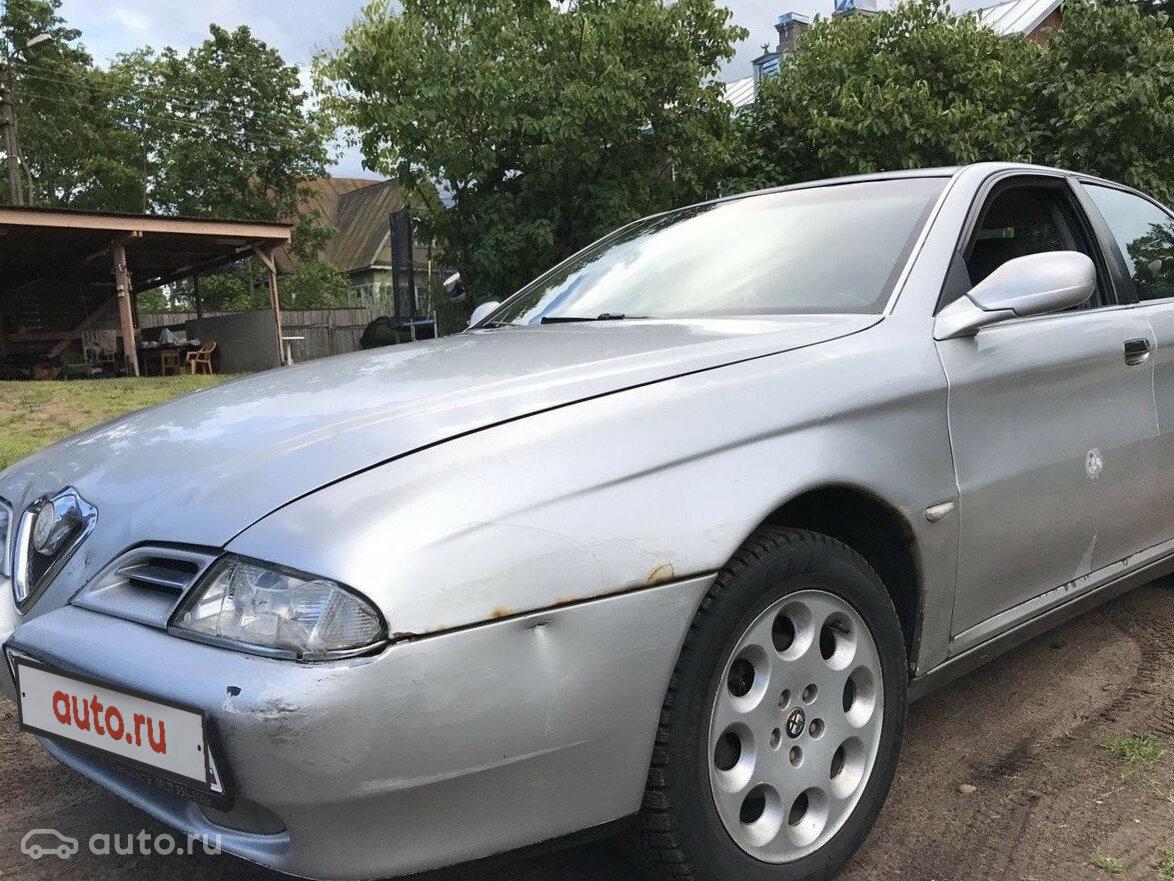 2000 Alfa Romeo 166 I, серебристый, undefined рублей