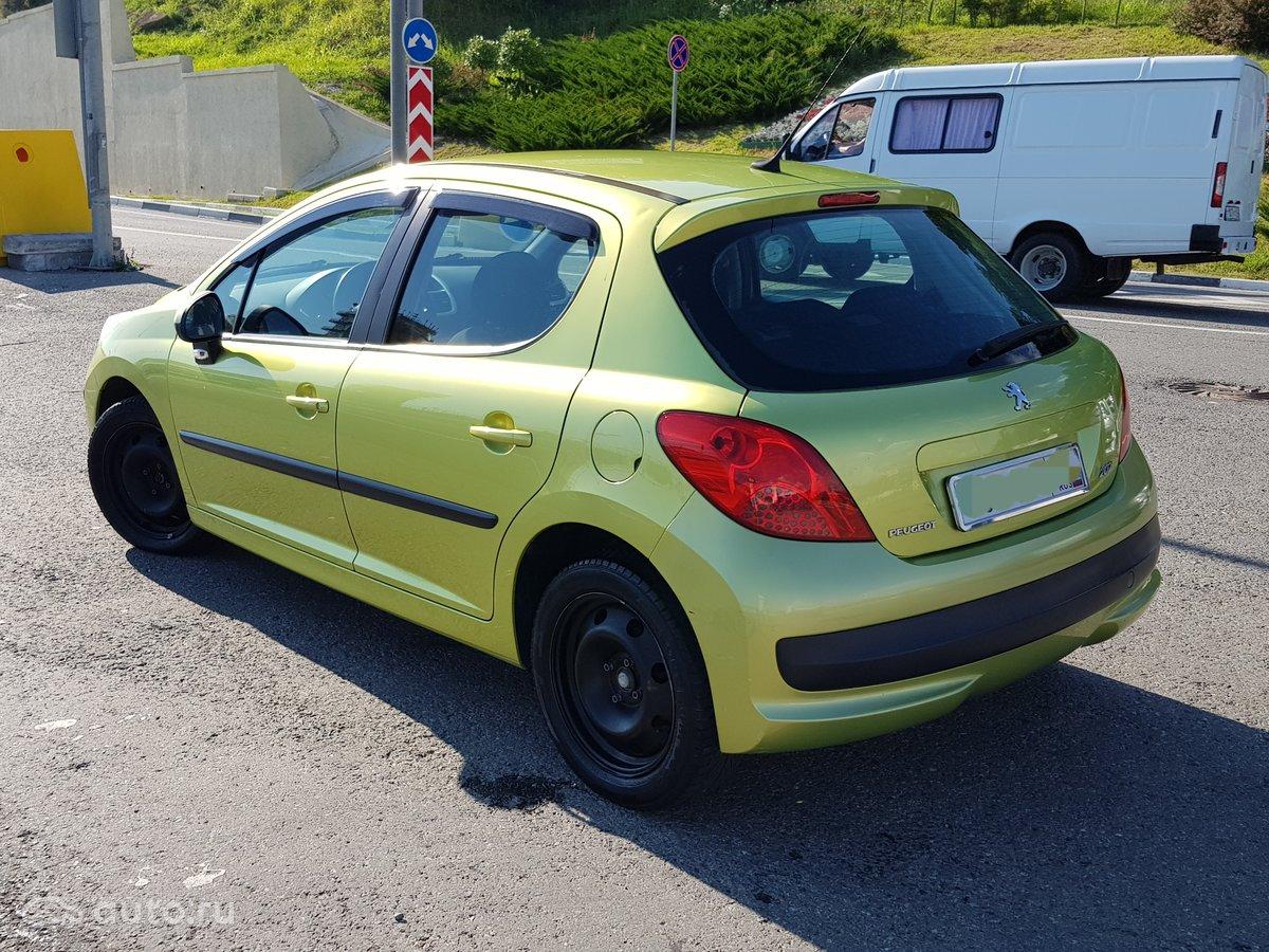 2007 Peugeot 207 I, жёлтый, [object Object] рублей