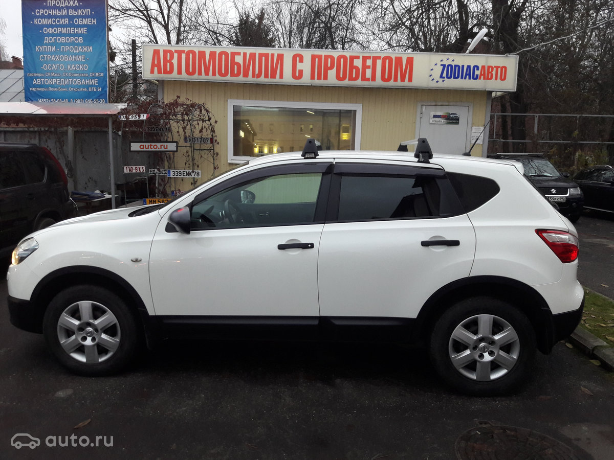 Купить Nissan Qashqai I Рестайлинг с пробегом в Ярославле: 2013 ...