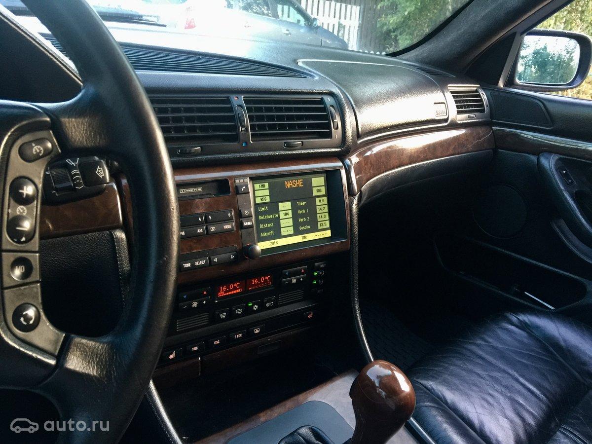 купить Bmw 7 серия Iii E38 рестайлинг 750i с пробегом в истре бмв