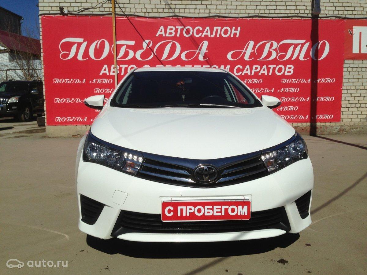 Toyota Королла саратов