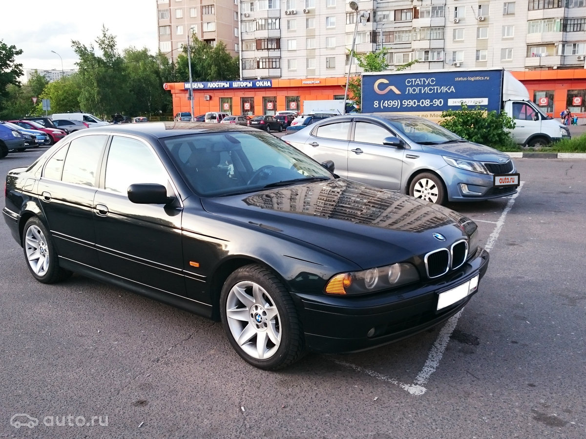 bmw 530d (бмв 5-серия) 2003