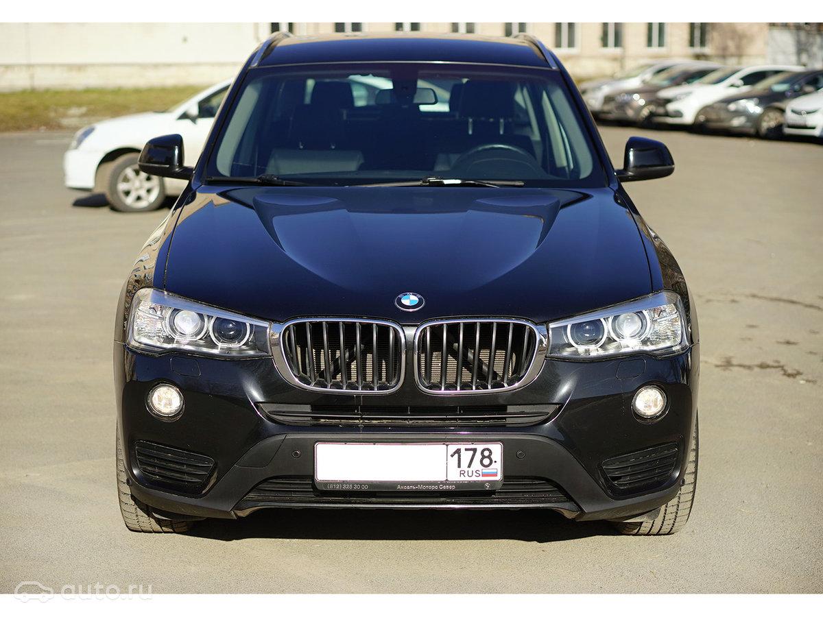 bmw x3 2015 старт продаж