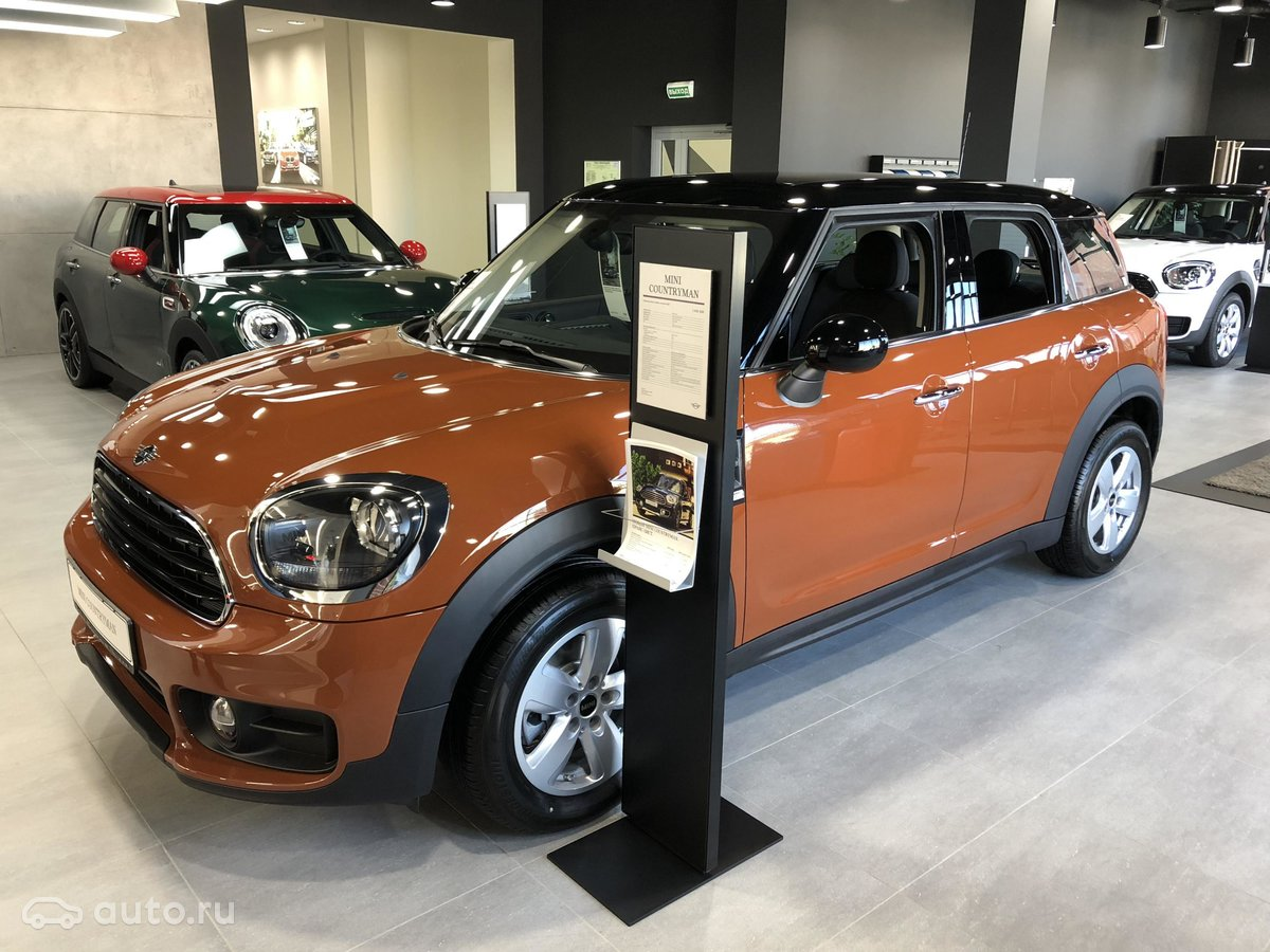 купить новый Mini Countryman Ii Cooper в санкт петербурге мини
