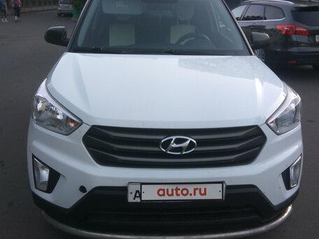 Купить Hyundai Creta пробег 10 000.00 км 2016 год выпуска