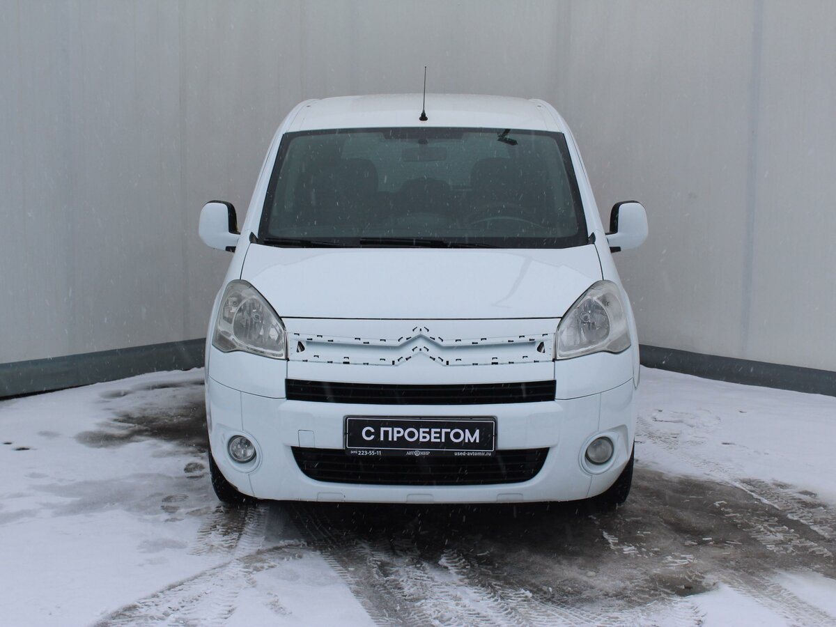 2011 Citroen Berlingo  II, белый - вид 1