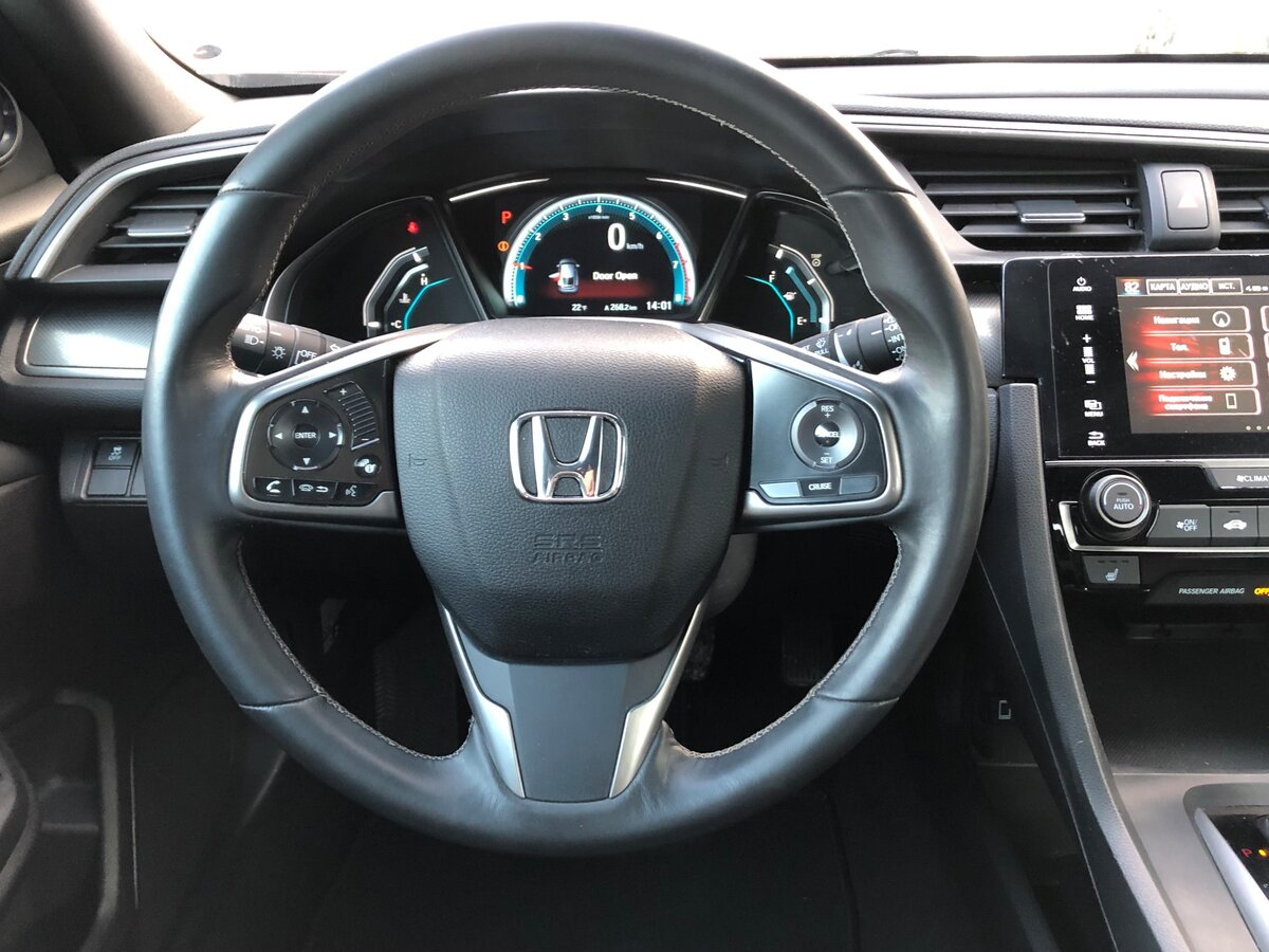 2016 Honda Civic  X, синий - вид 16