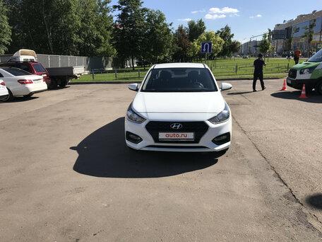 Купить хендай солярис с пробегом в москве автосалоны деньги под залог от частного лица проверенные сайты