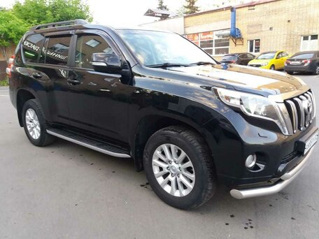 Купить Toyota Land Cruiser Prado пробег 153 000.00 км 2014 год выпуска