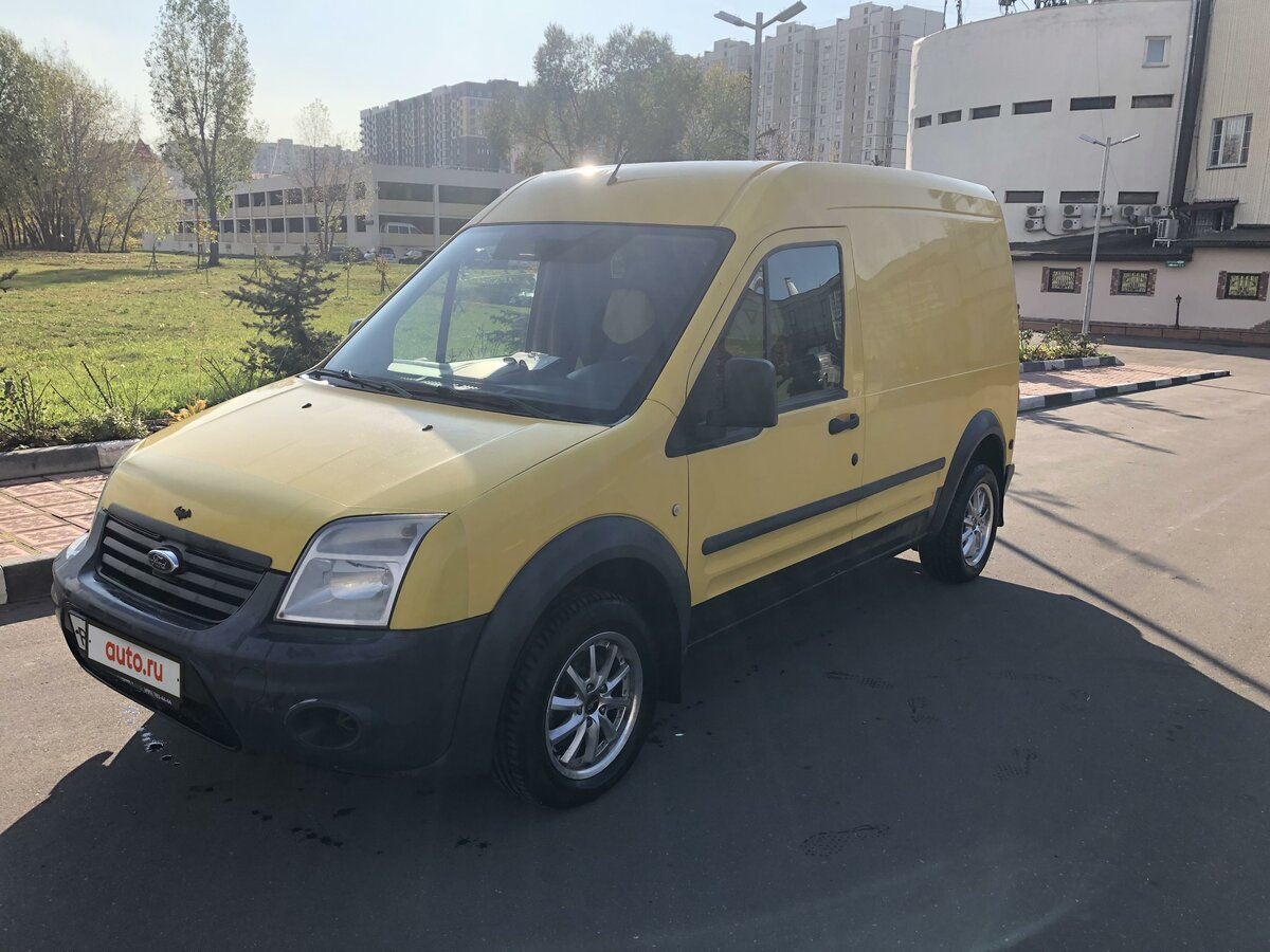 2010 Ford Transit Connect, жёлтый