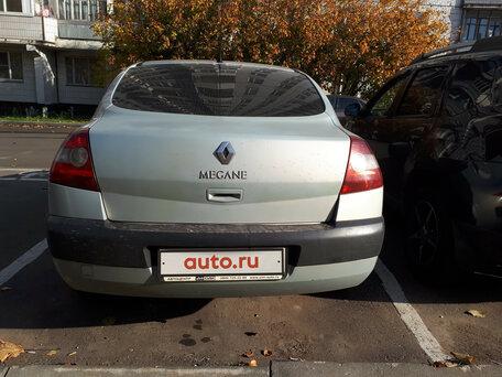 Купить Renault Megane пробег 245 500.00 км 2004 год выпуска