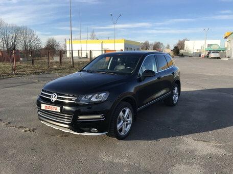 Купить Volkswagen Touareg пробег 67 000.00 км 2012 год выпуска