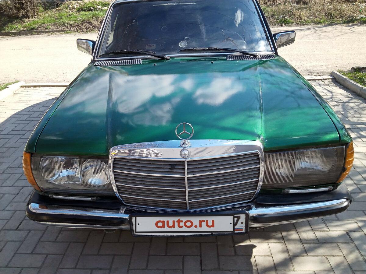 Смотрите, какая машина: Mercedes-Benz W123 1975-1985 300 1980 года за 120000 рублей на Авто.ру!