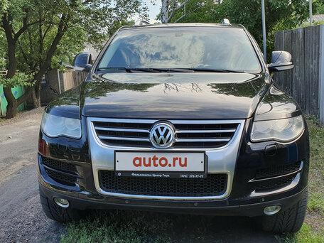 Купить Volkswagen Touareg пробег 150 000.00 км 2008 год выпуска