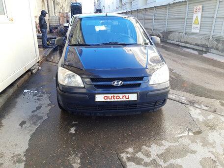 Купить Hyundai Getz пробег 160 000.00 км 2003 год выпуска
