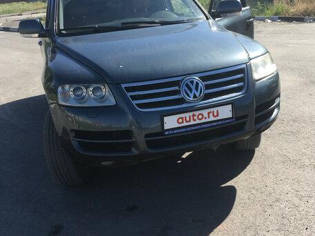 Купить Volkswagen Touareg пробег 221 000.00 км 2004 год выпуска