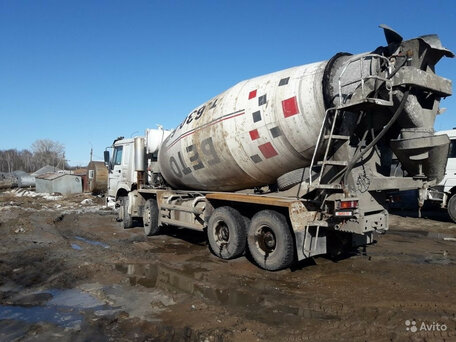 Купить миксер бетон бу на авито сегежа бетон купить
