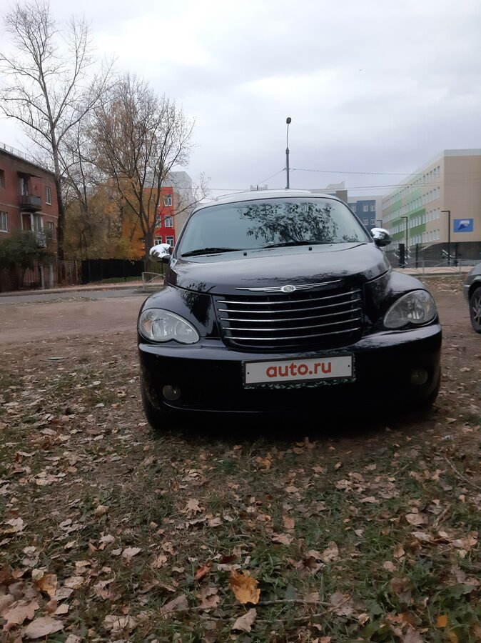 2006 Chrysler PT Cruiser , чёрный - вид 2