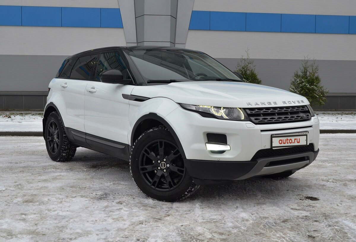 2015 Land Rover Range Rover Evoque  I 9-speed, белый