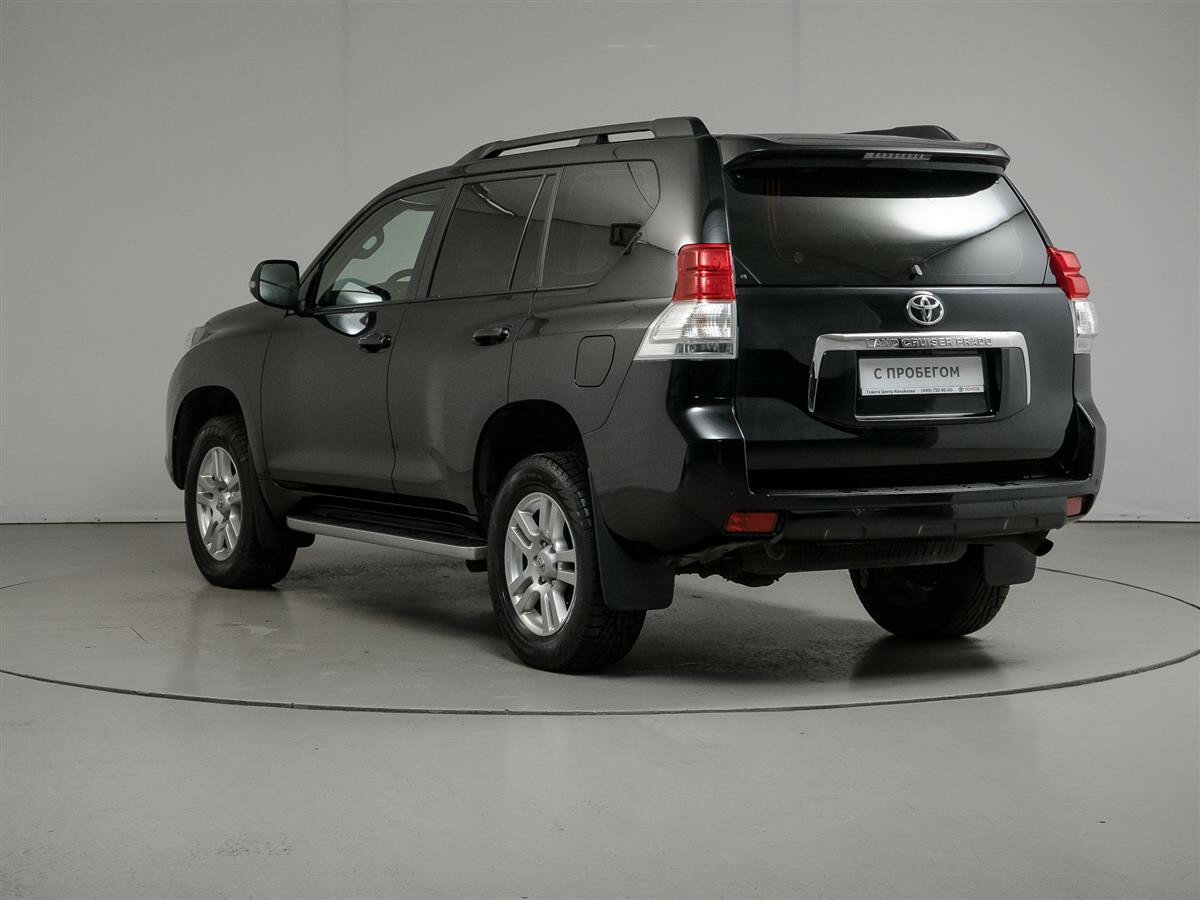 2012 Toyota Land Cruiser Prado  150 Series, чёрный - вид 6