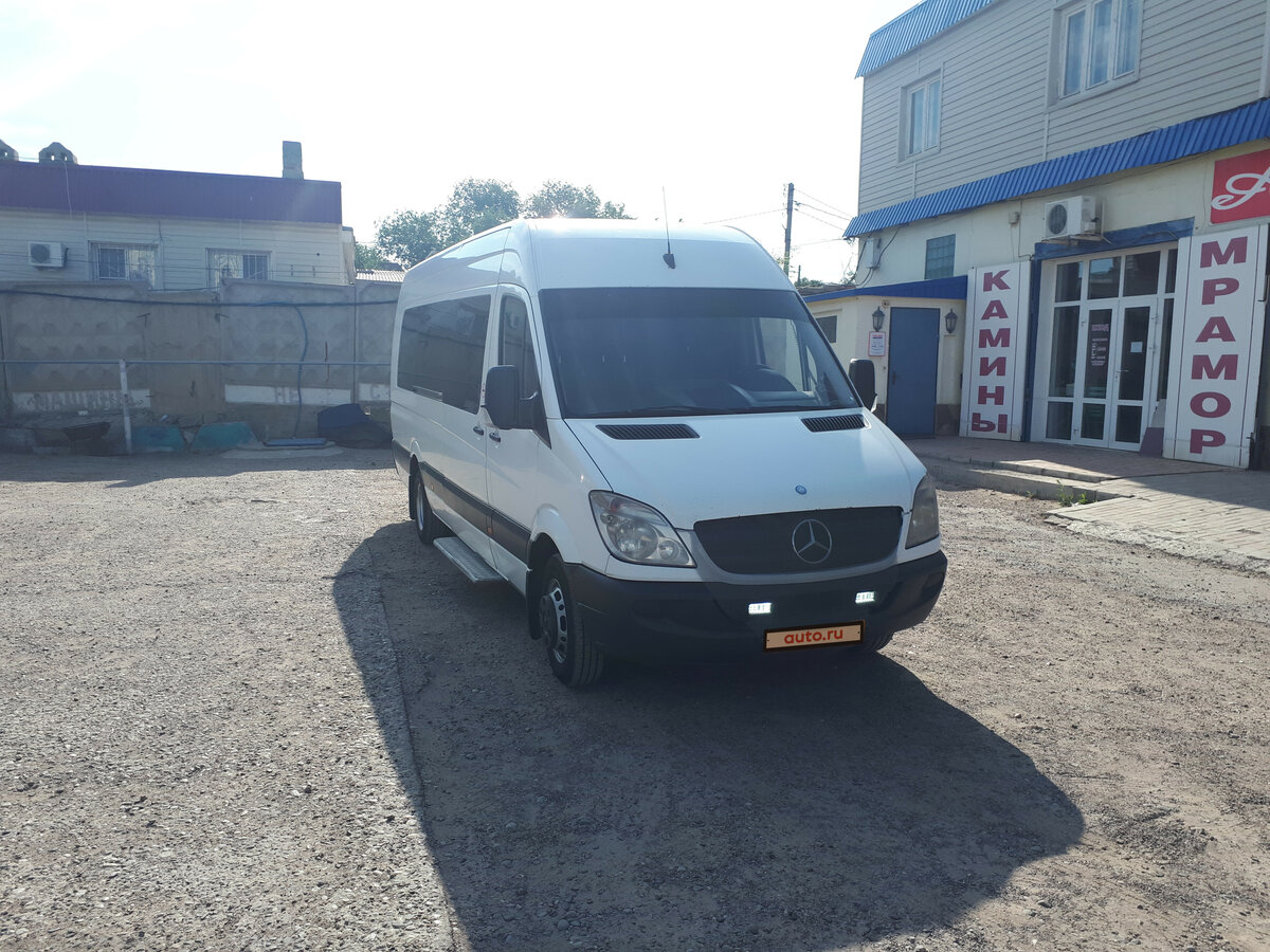 2008 Mercedes-Benz Sprinter, белый - вид 2