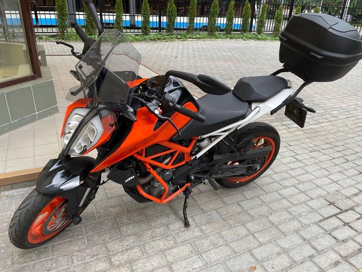 Купить б/у KTM 390 Duke инжектор 6 передач в Москве