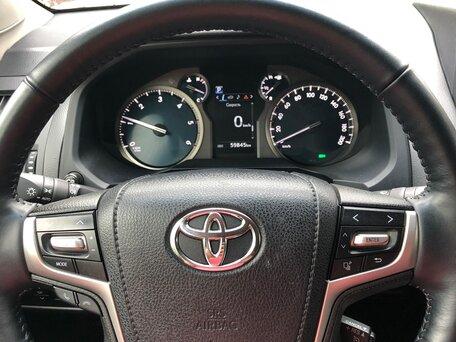 Купить Toyota Land Cruiser Prado пробег 59 000.00 км 2017 год выпуска