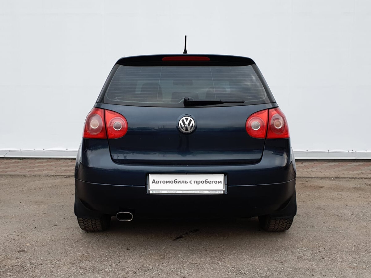 2006 Volkswagen Golf  V, синий - вид 4