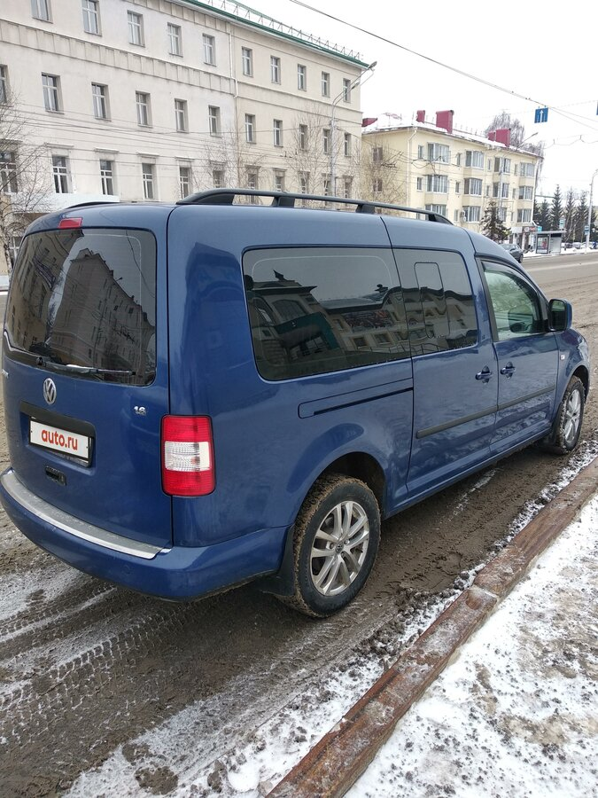 2009 Volkswagen Caddy  III, синий - вид 2